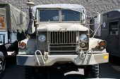 picture of deuce  - World War Two era supply truck - JPG