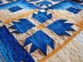 Cozy Bear Paw Quilt poster