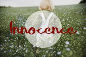 Innocence Adorable Playful Curiosity Pure Word poster