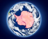 Постер, плакат: Antarctica On Planet Earth