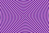 Optical Illusion Hypno Purple