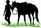 Jinete de caballo