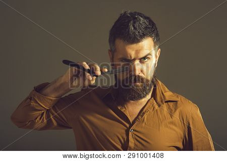 Male Hairstylist Barber Barbershop Man