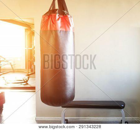 New Modern Punching Bag In