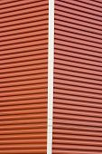 stock photo of un-real  - Abstract Pattern of a Building Corner with siding - JPG