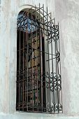 Colorful Window With Grille
