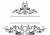 Floral Logo Shield