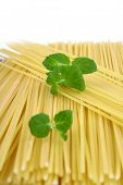 Spaghetti Of Isolated On White Background poster