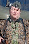 foto of vinnitsa  - Person in SS field uniform - JPG