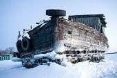Wooden Barge
