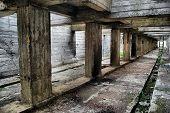 Lost city.Near Chernobyl area.Kiev region,Ukraine HDR