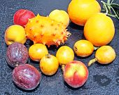 picture of nacked  - Exotic fruits - JPG