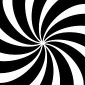 foto of hypnotic  - Black and white hypnotic background - JPG