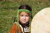 Child With Tambourine