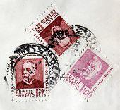 Three Brazil Stamps