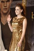 BERLIN, GERMANY - NOV 16: KRISTEN STEWART at The Twilight Saga: Breaking Dawn - Part 2 - premiere in