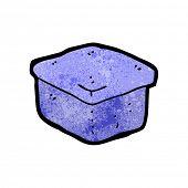 Cartoon blue box
