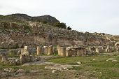 Solunto archaeological park, near Palermo, Sicily