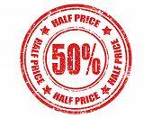 Half Price-stamp