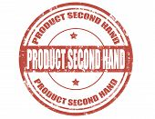 Product Second Hand-stamp