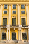 picture of sissy  - Wall of Schonbrunn Palace in Vienna - JPG