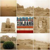 Jiaohe Ancient City In Xinjiang