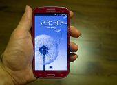 Broken Samsung smartphone