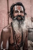 Sadhu - Holy Man In Varanasi