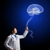 Male doctor neurologist