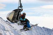 Ski Piste Lift