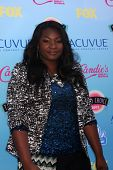 LOS ANGELES - AUG 11:  Candice Glover at the 2013 Teen Choice Awards at the Gibson Ampitheater Unive