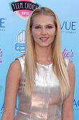 LOS ANGELES - AUG 11:  Claudia Lee at the 2013 Teen Choice Awards at the Gibson Ampitheater Universa