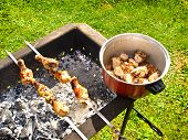 Delicious Barbeque, Broil, And Grilled