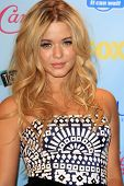 LOS ANGELES - AUG 11:  Sasha Pieterse in the 2013 Teen Choice Awards Press Room at the Gibson Ampith