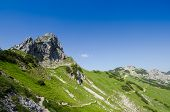 Mountain L�uferspitze At The F�ssener J�chle