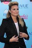 LOS ANGELES - AUG 11:  Demi Lovato at the 2013 Teen Choice Awards at the Gibson Ampitheater Universa
