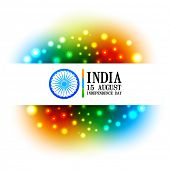 beautiful colorful indian flag backgorund