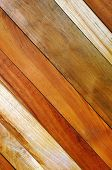 Background photo of diagonal wooden planks wall