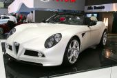 Alfa Romeo 8C Spyder Cabrio