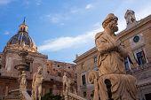 Fontana Delle Vergogne In Palermo