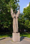Saint Climent from Ohrid statue Sofia Bulgaria
