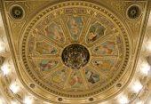 Opera theater ceiling chandelier