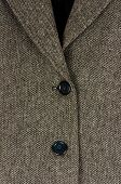 Tweed suit closeup