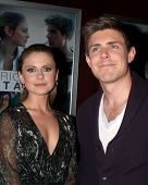LOS ANGELES - JAN 28:  Rose McIver, Chris Lowell at the