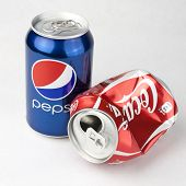 Pepsi And Coca cola Cans