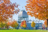 MONTREAL, CANADA, OCTOBER 12, 2013 - Pavillon Bonsecours on Ile Bonsecours, Old Montreal
