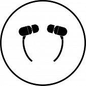 earbuds symbol