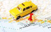 La Spezia  Italy Map Taxi