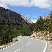 Road In Switzerland