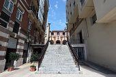 Street In Portugalete, Bilbao, Spain